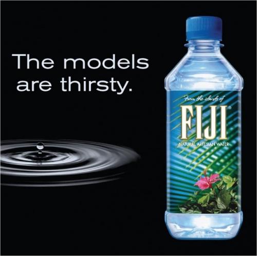Натуральная артезианская вода Fiji