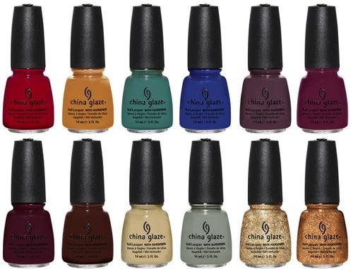 Осенняя коллекция лаков для ногтей China Glaze On Safari Collection for Fall 2012