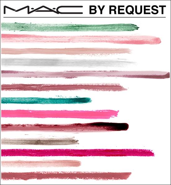 Коллекция макияжа MAC By Request Collection Fall 2012