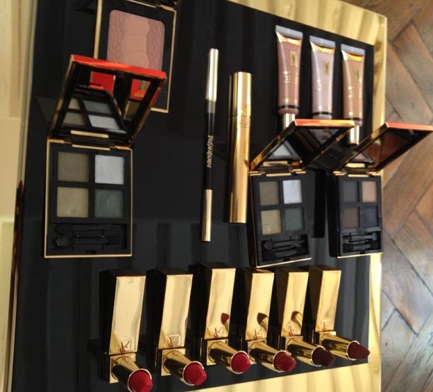 Осенняя коллекция макияжа Yves Saint Laurent Fall 2012 Makeup Collection