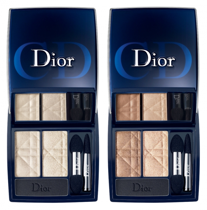 Тени для век Dior Three Shadow Palette №551 Ivory Glow №651 Nude Glow
