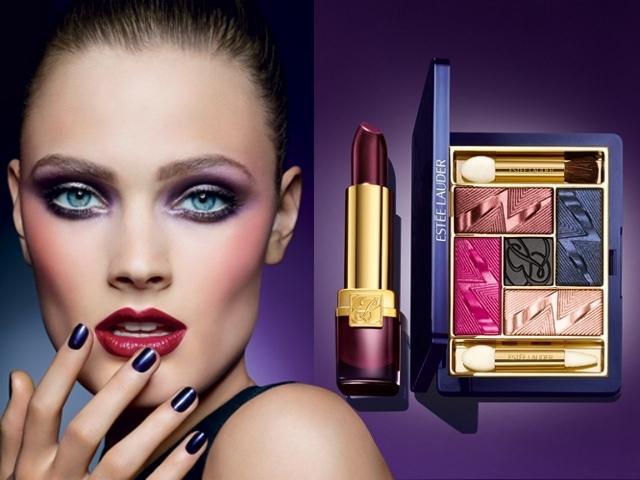 Коллекция макияжа Estee Lauder Violet Underground Fall 2012