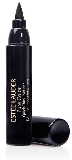 Подводка-фломастер для глаз Pure Color Quick-Thick Eyeliner в интенсивном черном оттенке  Punker Black