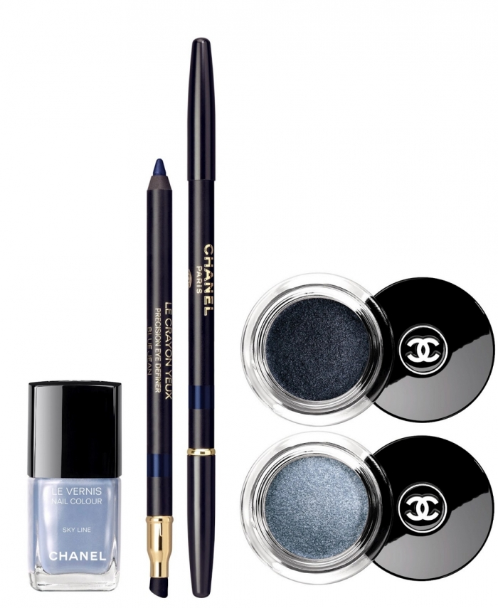 Лимитированная коллекция макияжа Chanel Blue Illusion Summer 2012
