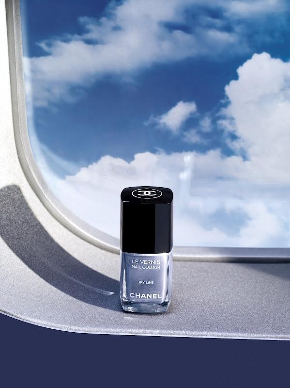 Лак для ногтей Le Vernis Sky Line (перламутровый светлый серо-голубой)