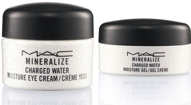 Увлажняющий гель для лица Mineralize Charged Water Moisture Gel и Увлажняющий крем для век Mineralize Charged Water Moisture Eye Cream