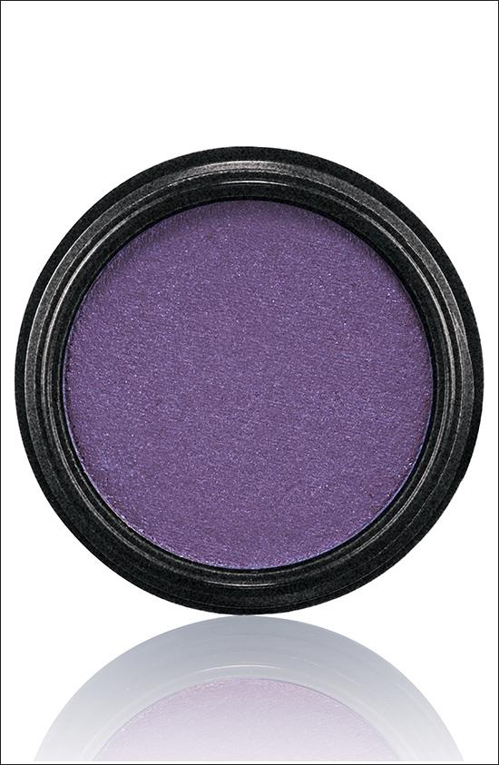 тени для век MAC Electric Cool Eyeshadow Highly Charged - Rich purple with pink pearl (насыщенный фиолетовый с розовым  перламутром)