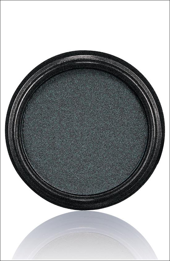 тени для век MAC Electric Cool Eyeshadow Blacklit - Black with multi-dimensional pearl (черный с многомерным перламутром)