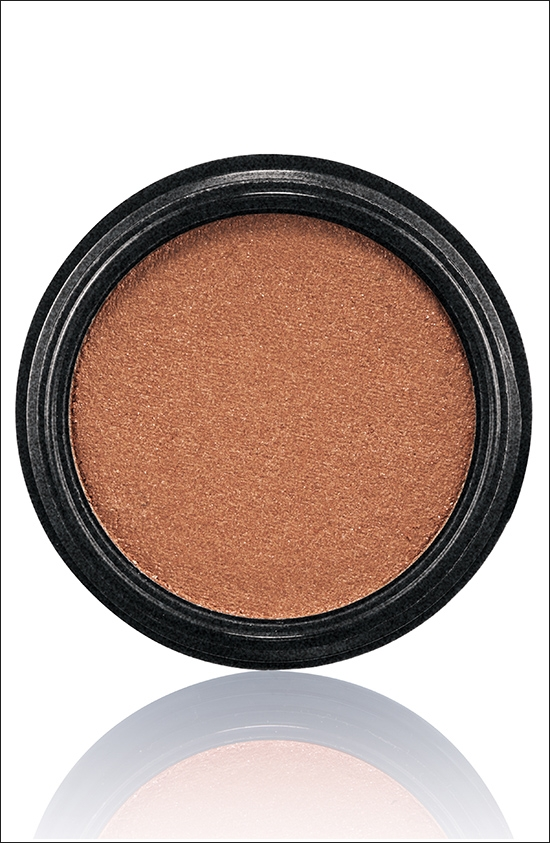 тени для век MAC Electric Cool Eyeshadow Coil - Copper bronze (медно-бронзовый)