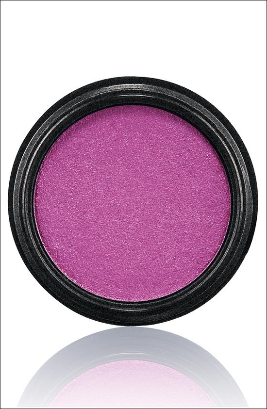 тени для век MAC Electric Cool Eyeshadow Infra-violet - Mid-tone pink violet with blue pearl (лилово-розовый с голубым перламутром)