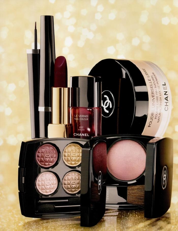 Рождественская коллекция макияжа CHANEL HOLIDAY 2012 MAKEUP COLLECTION: Eclats du Soir de Chanel