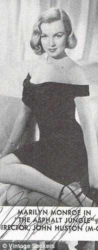 Вырезка из журнала с фотографией и автографом Мерилин Монро, 1950 год. продана за 16 000 USD
