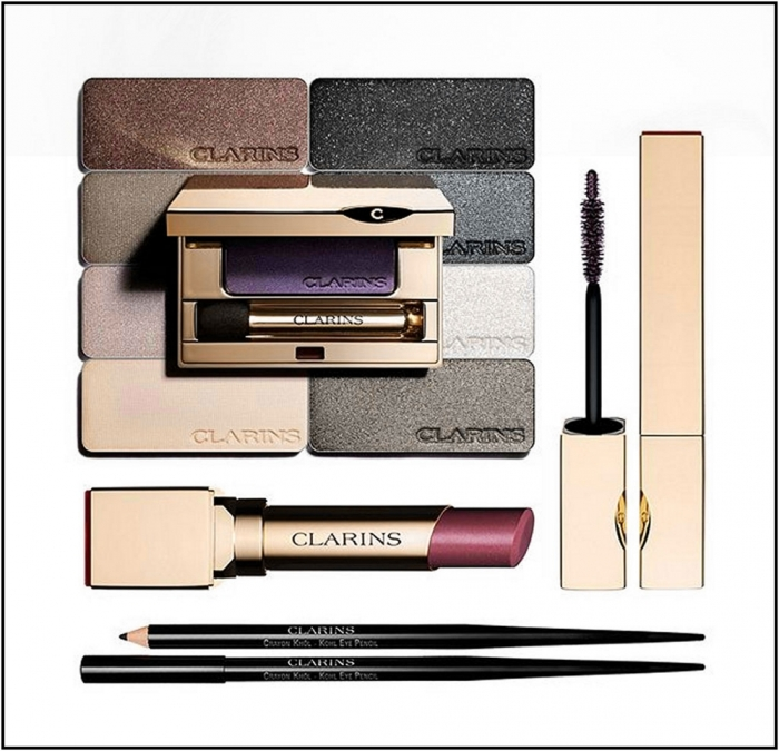 Осенняя коллекция макияжа Clarins Ombre Minerale Fall 2012 Collection