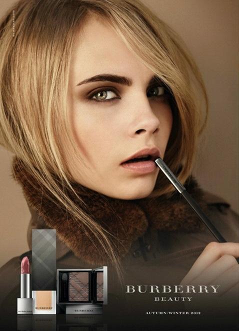 Коллекция макияжа Burberry Makeup Collection  осень зима 2012