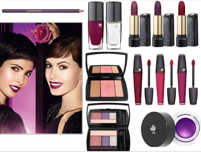 Осенняя коллекция макияжа Lancome Midnight Roses Collection Fall 2012