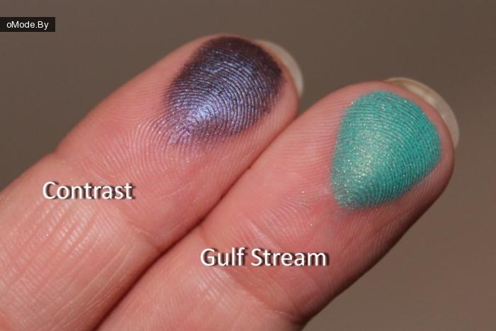 свотчи тени для век MAC Small Eye Shadow Gulf Stream