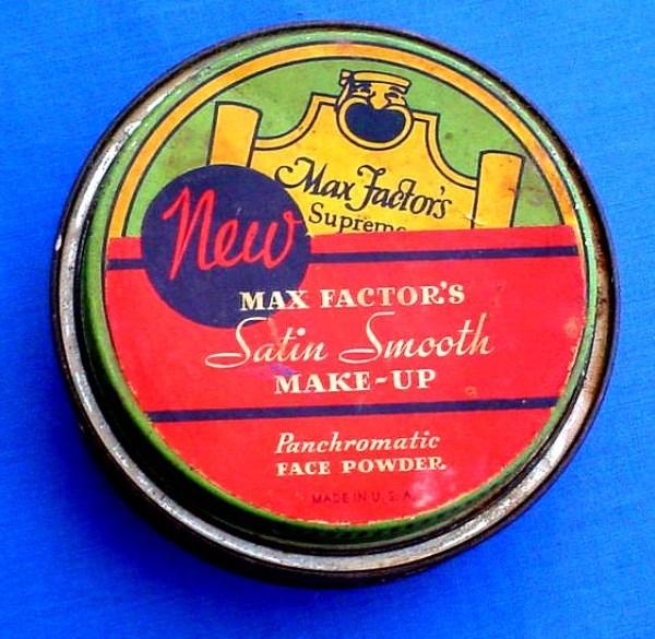 грим для лица МаксФактор 20-е годы