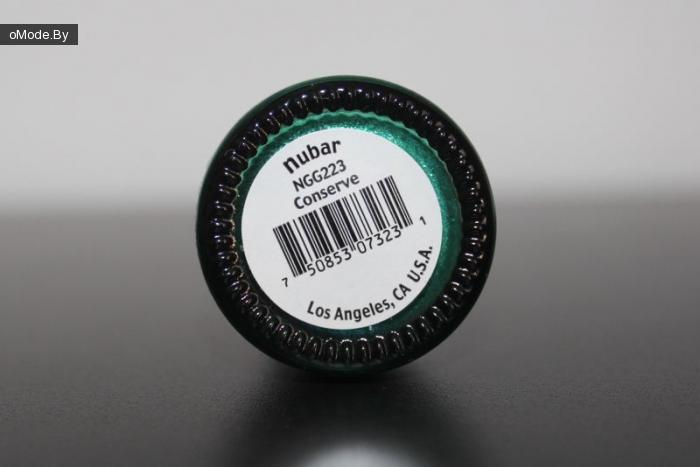 Лак для ногтей Nubar Nail Lacquer Conserve 15ml