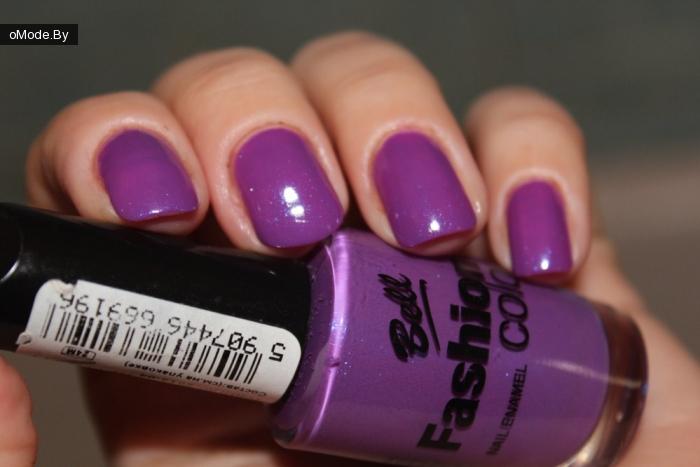 Свотчи лака для ногтей Bell Fashion Colour №319