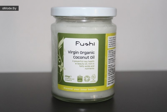 Органическое кокосовое масло Fushi Extra Virgin Organic Coconut Oil 250g