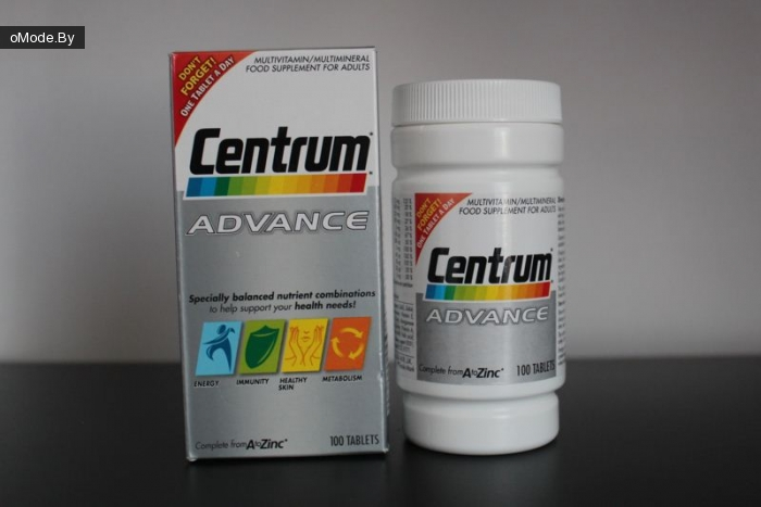 Мультивитамины Centrum Advance Multivitamin/Multimineral 100 Tablets