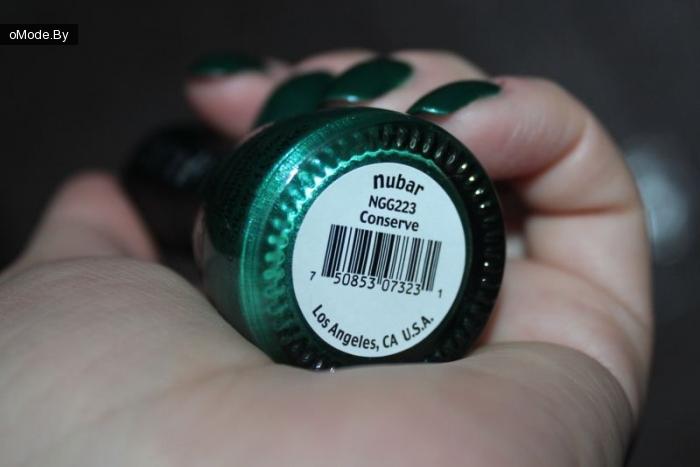 Лак для ногтей Nubar  «Conserve»