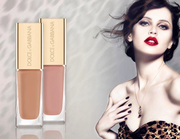 Насыщенный лак для ногтей Intense Nail Lacquer Рождественская коллекция макияжа Dolce & Gabbana Animalier Signature Holiday 2012 Makeup Collection