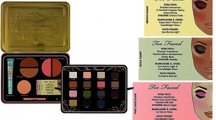 Набор Sweet Indulgences Рождественская коллекция макияжа Too Faced Love Sweet Love Holiday 2012 Makeup Collection