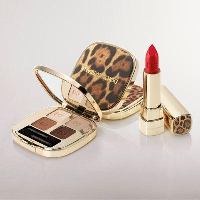 Рождественская коллекция макияжа Dolce & Gabbana Animalier Signature Holiday 2012 Makeup Collection