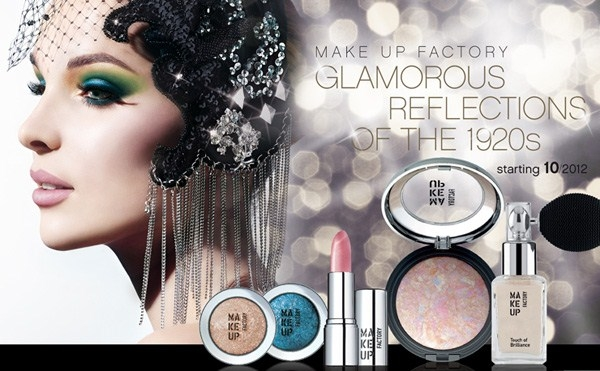 Рождественская коллекция макияжа Make Up Factory Glamorous Reflections of the 1920s Holiday 2012 Collection
