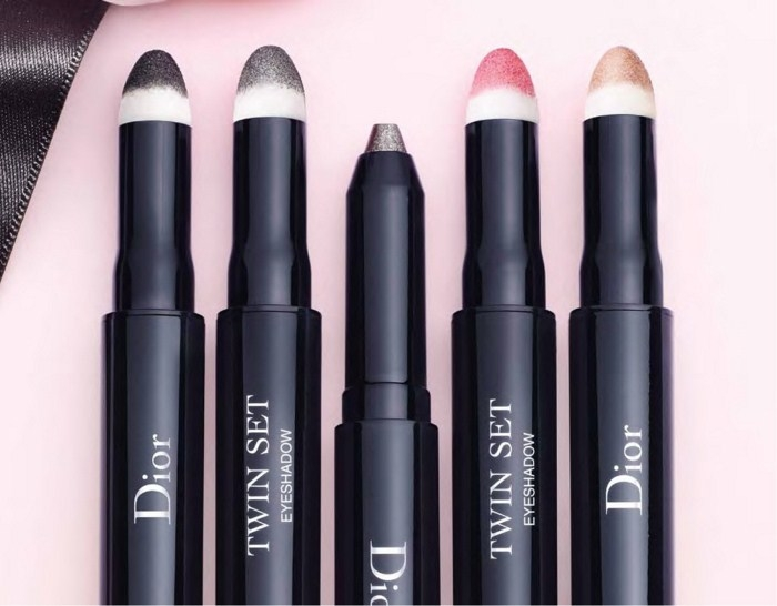 Двусторонний набор «карандаш-тени» для глаз Dior Twin Set Eyeshadow Pen