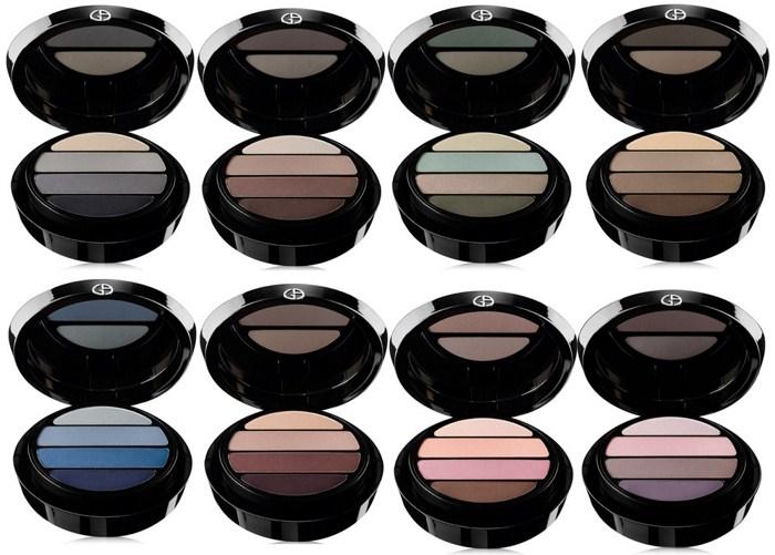 Новая коллекция теней для век Giorgio Armani Eyes to Kill Eyeshadow Quads
