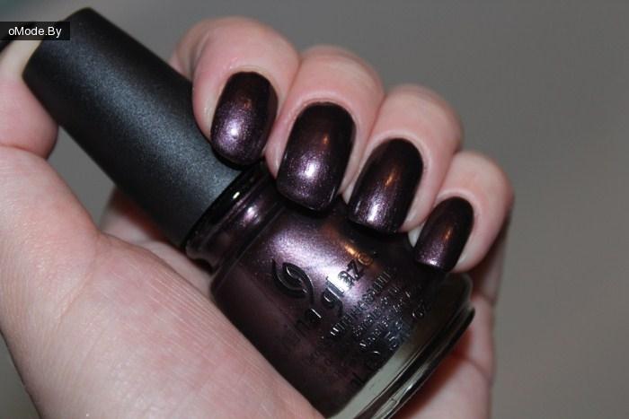 Свотчи лака для ногтей China Glaze «Bogie»