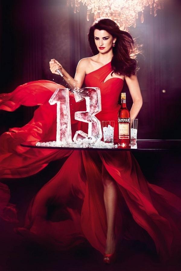 Пенелопа Круз снялась для календаря Campari 2013