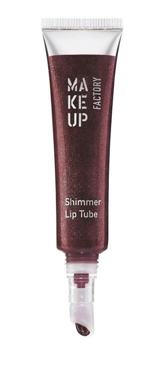 Блестящий блеск для губ Shimmer Lip Tube №15 Shiny Claret