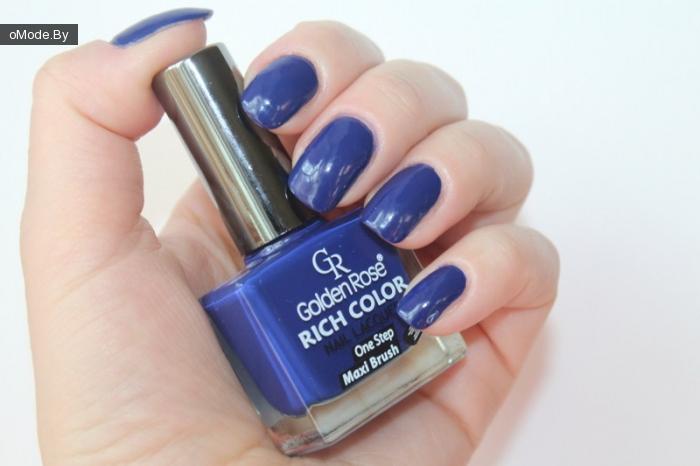 Свотчи лака для ногтей Golden Rose Rich Color №16