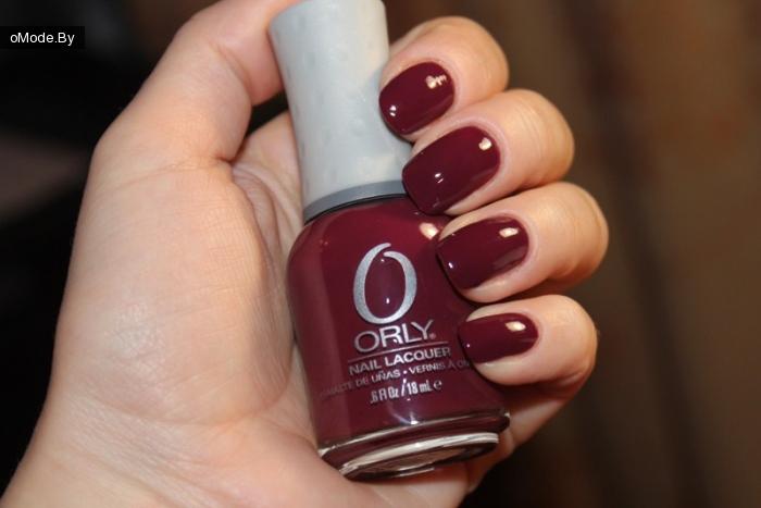 Свотчи лака для ногтей Orly «Mind`s Eye»