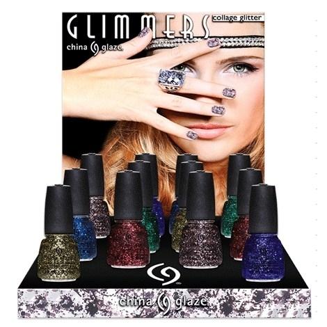Зимняя коллекция лаков для ногтей China Glaze Glimmers Winter 2012 Collection