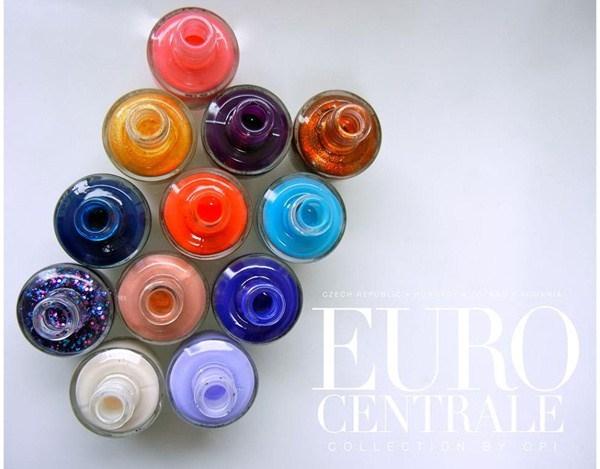 Весенне-летняя коллекция лаков для ногтей OPI  Euro Centrale Spring/Summer 2013 Collection