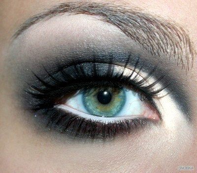 Макияж для зеленых глаз фото