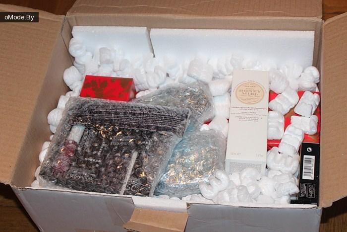 Посылка из интернет-магазина Strawberrynet.com (Клубника)