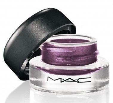 Гелевая подводка для глаз Fluidline  (постоянная коллекция) Macroviolet - Deep smoked violet with red pearl (пыльный фиолетовый с красным перламутром)