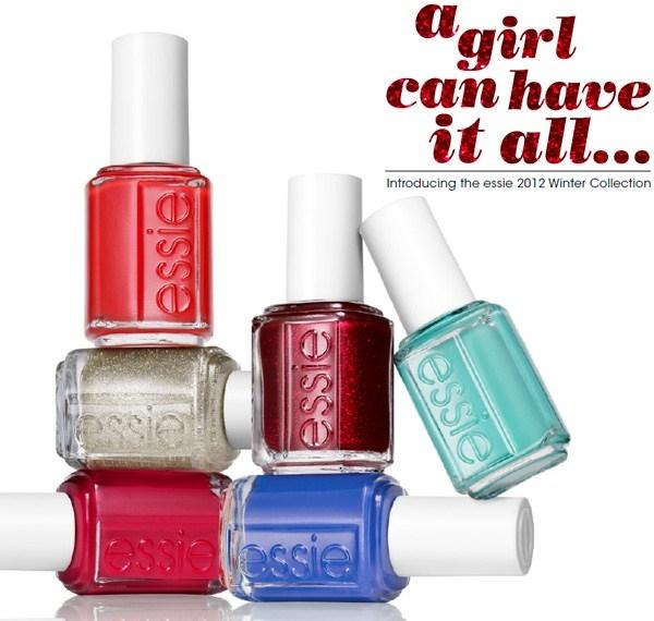 Рождественская коллекция лаков для ногтей Essie Holiday Winter 2012 Collection