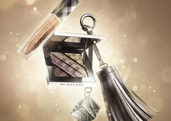 Рождественская коллекция макияжа Burberry Beauty Vintage Gold Makeup Holiday 2012 Collection