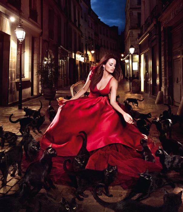 Пенелопа Круз снялась для календаря Campari