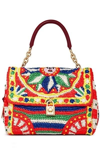 Весенняя коллекция сумок Dolce & Gabbana Spring 2013 Handbags