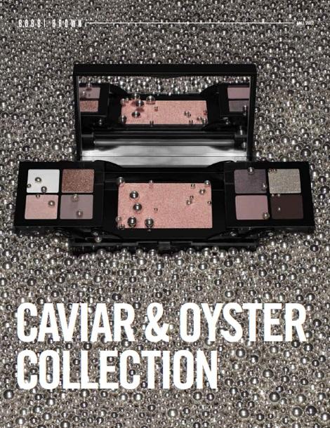 Рождественская коллекция макияжа Bobbi Brown Caviar & Oyster Holiday 2012 Collection