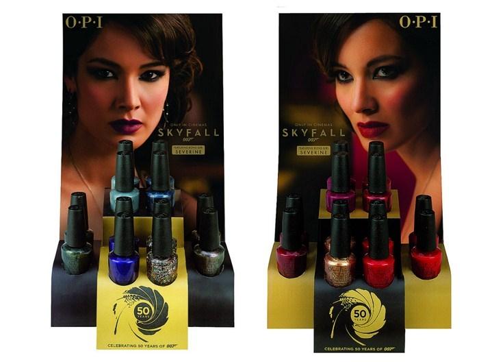 Рождественская коллекция лаков для ногтей OPI Skyfall Holiday 2012 Collection