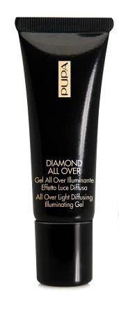Бриллиантовый гель для лица и тела с блестками DIAMOND ALL OVER glitter