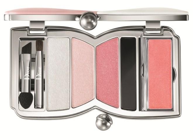 Палетка для макияжа глаз и губ Dior Cherie Bow Palette 002 Rose Perle